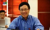 Vize-Premierminister Pham Binh Minh empfängt die spanische Botschafterin