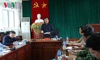 Vize-Premierminister Trinh Dinh Dung leitet die Beseitigung der Folgen der Flut in Lai Chau