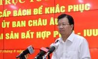 Aufhebung der gelben Karte ist die politische Aufgabe der Ministerien und Provinzen