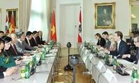 Vertiefung der Beziehungen zwischen Vietnam und Österreich