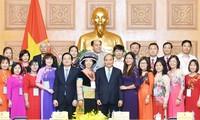 Feier zum vietnamesischen Lehrertag