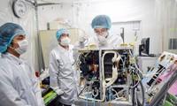 Der vietnamesische Satellit MicroDragon wird vom Japan ins All geschickt