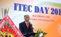 """Der Festtag """"Zusammenarbeit in Wirtschaft und Technik von Indien"""" in Haiphong"""