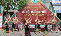 Veranstaltungen zum vietnamesischen Brokat-Fest