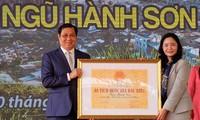 Sehenswürdigkeit Ngu Hanh Son wird als Sondernationale Stätte anerkannt