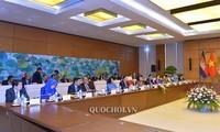 Die Delegation des kambodschanischen Parlaments zu Gast in Vietnam