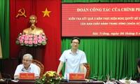 Vize-Premierminister Vu Duc Dam besucht die Provinz Soc Trang