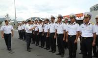 Schiff der vietnamesischen Marine nimmt an Manöver und Ausstellung in Singapur teil