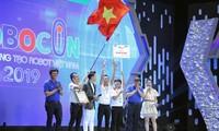 Die Hochschule Lac Hong gewinnt beim vietnamesischen Roboter-Wettbewerb