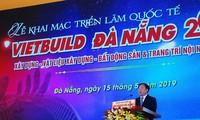 Mehr als 300 Unternehmen nehmen an der internationalen Messe Vietbuild Da Nang teil