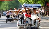 Asiatische Touristen machen einen großen Teil der ausländischen Besucher in Vietnam aus