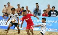 "Eröffnung des Beachsoccer-Pokal-Tuniers ""VietFootball"" in Nha Trang"