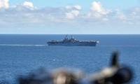 US-Schiff schießt iranische Drohne ab
