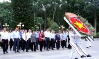 Gedenken an Helden und gefallene Soldaten in Ho-Chi-Minh-Stadt