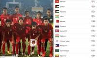 Die vietnamesische Nationalfußballmannschaft steht an 97. Stelle in der FIFA-Rangliste