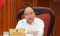 Die ständige Abteilung der Regierung debattiert über einige Infrastrukturprojekte