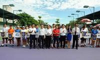 Eröffnung des Tennis-Turniers für Frauen und Männer 2019