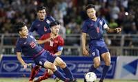 Das Spiel zwischen U18-Fußballmannschaften Vietnams und Thailands endet unentschieden
