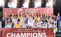 Die vietnamesische Frauen-Fußballmannschaft ist Meister bei der Südostasien-Fußballmeisterschaft