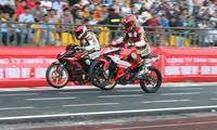 Das landesweite Motorradrennen in Can Tho