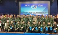 Vietnam nimmt an dem Militärtraining für den Frieden in Indonesien teil