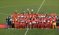 Die vietnamesische Fußballmannschaft der Frauen ist Meister bei den Südostasien-Spielen