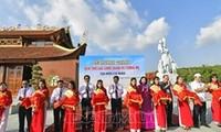 Einweihung des Mutter-Denkmals und des Tempels Lac Long Quan in Ca Mau