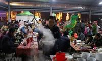 Bewahrung der traditionellen Kultur auf den Märkten in Bergregionen