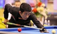 Drei vietnamesische Billardspieler beteiligen sich an Billard-Weltmeisterschaft