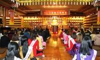 Der Verband der vietnamesischen Buddhisten in Südkorea feiert vorzeitig das Neujahrsfest für die Gemeinde
