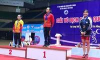 Hanoi steht an erster Stelle bei der Nationalmeisterschaft im Gewichtheben