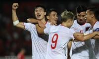 Die vietnamesische Fußballnationalmannschaft wird von FIFA geehrt