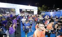Pham Thi Hong Le ist die Siegerin beim Marathonlauf in Ho-Chi-Minh-Stadt
