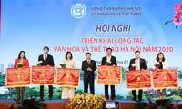 Bilanz über die Arbeit der Behörde für Kultur und Sport der Hauptstadt Hanoi