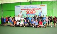 Tennis-Turnier zum Neujahr und zum Gründungstag der KPV