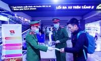 Jugendliche in Hanoi engagieren sich für die Epidemie-Bekämpfung