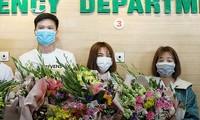 Drei durch Coronavirus infizierte Patienten in Vietnam dürfen aus dem Krankenhaus entlassen werden
