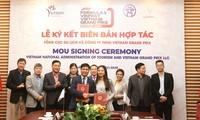 Werbung des vietnamesischen Tourismus in der Verbindung mit Formel-1-Meisterschaft