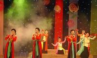 Vorbereitung für das Festival des Cheo-Gesangs der Amateure