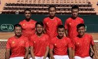 Ly Hoang Nam und Nguyen Van Phuong werden sich an Playoff-Spiel von Davis Cup beteiligen