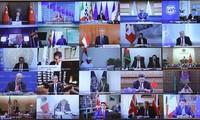 Premierminister Nguyen Xuan Phuc nimmt an Sondergipfel der G20 teil