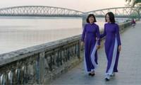 Vorbereitung auf das Fest der Tracht Ao Dai in Thua Thien Hue