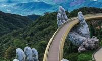 """Foto """"Goldene Brücke Da Nang"""" gewinnt den Preis  bei Weltarchitekturwettbewerb 2020"""