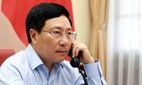 Vize-Premierminister und Außenminister Pham Binh Minh führt Telefongespräch mit der kubanischen Amtskollegin