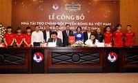 Die vietnamesische Fußballnationalmannschaft hat einen neuen Sponsor