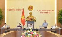 Die Abgeordneten diskutieren die finanzielle Sonderpolitik für Hanoi