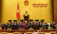 Abschluss der Parlamentssitzung