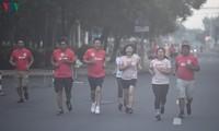 Laufwettbewerb im Rahmen des Radiofestivals