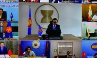 Konsultation zwischen ASEAN und China online geführt