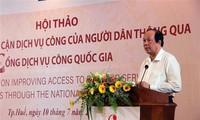 Verstärkung des Zugangs zu Service durch nationalen Portal für öffentliche Dienstleistungen